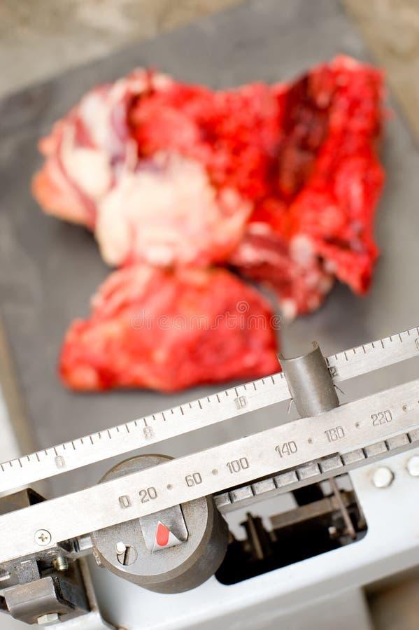 Download Meat weighting stock photo. Image of meat, food, floor - 11821510