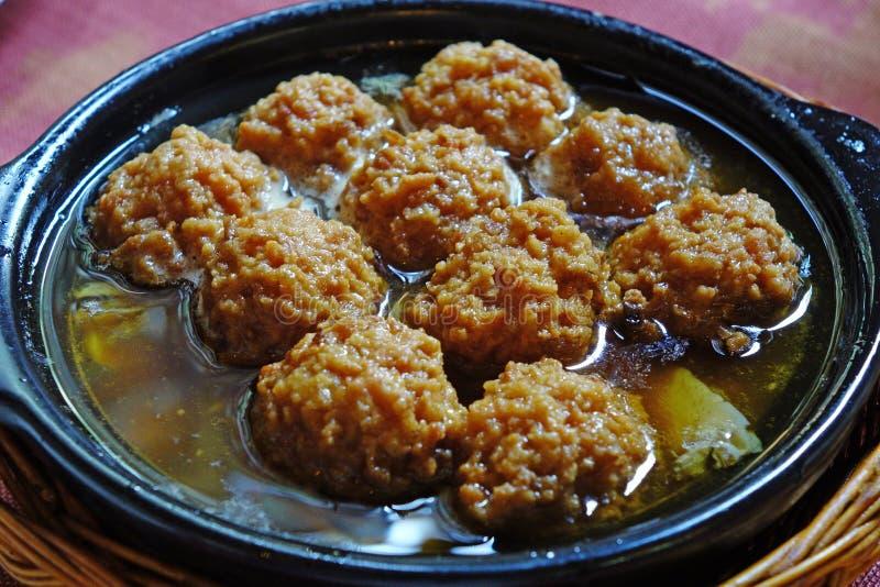 meatball imagem de stock