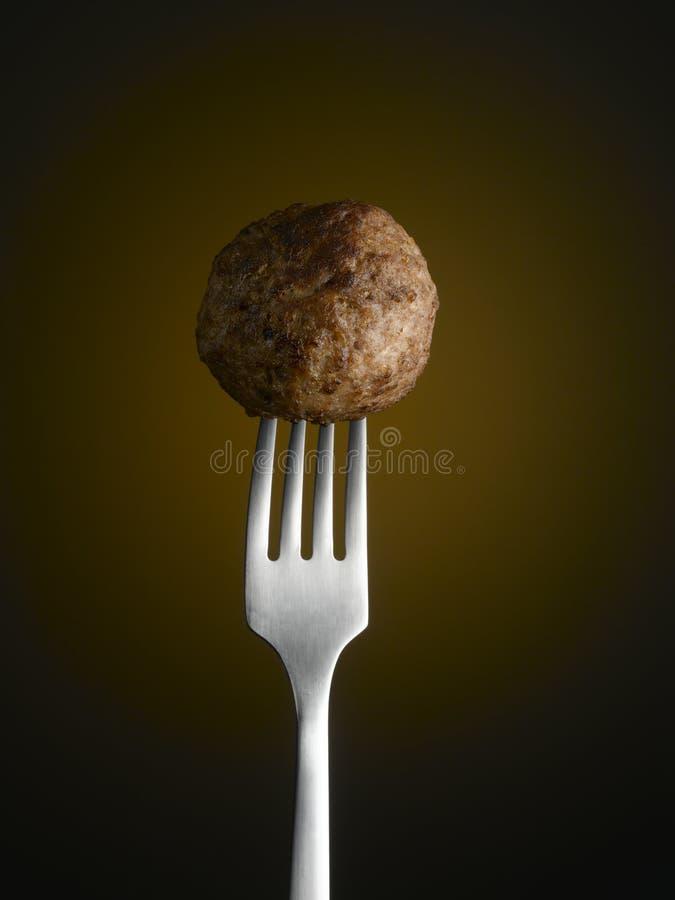 meatball royaltyfri bild