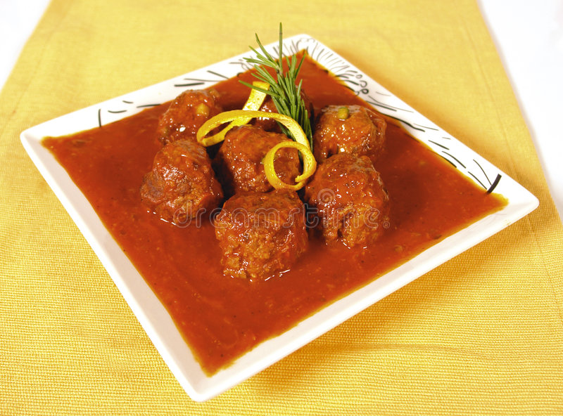 Meatballs royalty free stock image