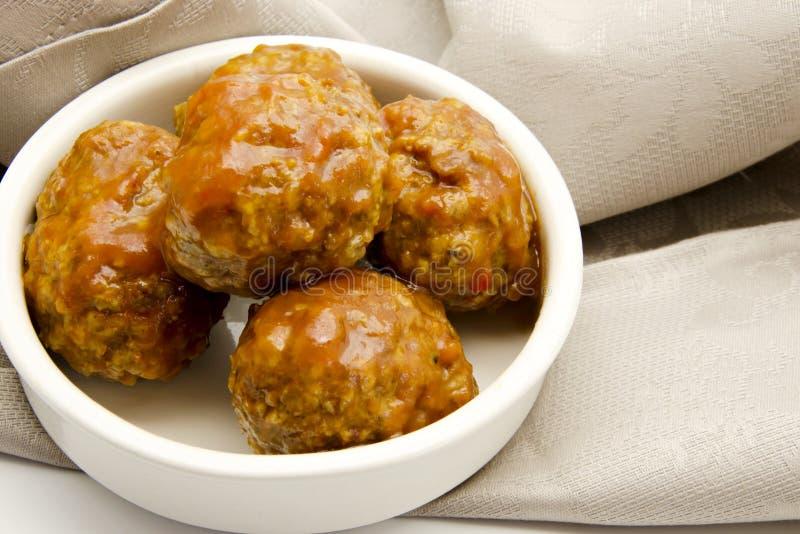 Meatballs foto de stock