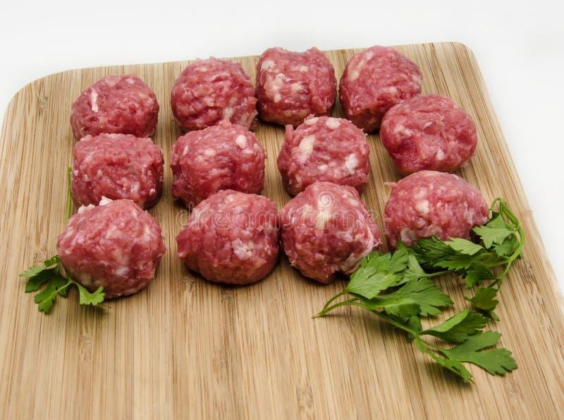 meatballs royaltyfri bild