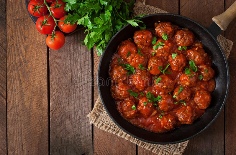 meatballs fotos de stock
