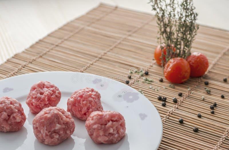 meatballs imagem de stock royalty free