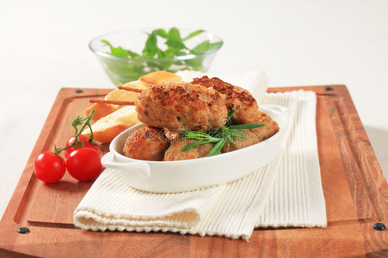 Download Meatballs And Kebabs Stock Image - Image: 22137791