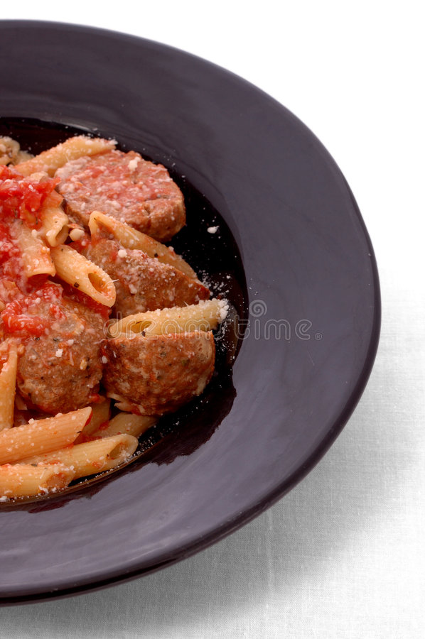 Download Meatballs And Pasta Royalty Free Stock Photos - Image: 276868