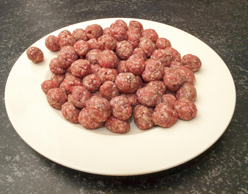 Download Meatballs for the soup stock image. Image of fresh, food - 28872481