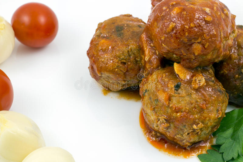 Download Meatballs With Tomato Sauce Stock Image - Image of italian, meatballs: 83716689