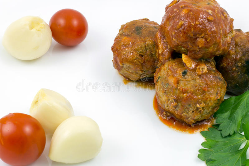 Download Meatballs With Tomato Sauce Stock Image - Image: 83717357
