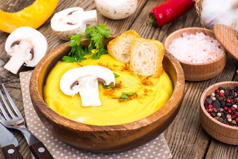 Meatless meat. Vegetarian vegetable puree with mushrooms. Studio Photo stock images