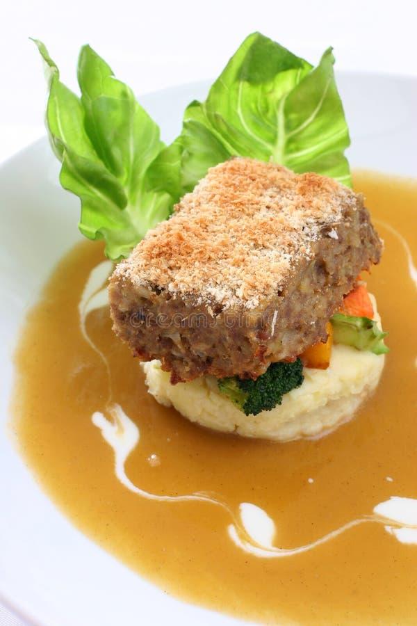 Meatloaf foto de stock royalty free