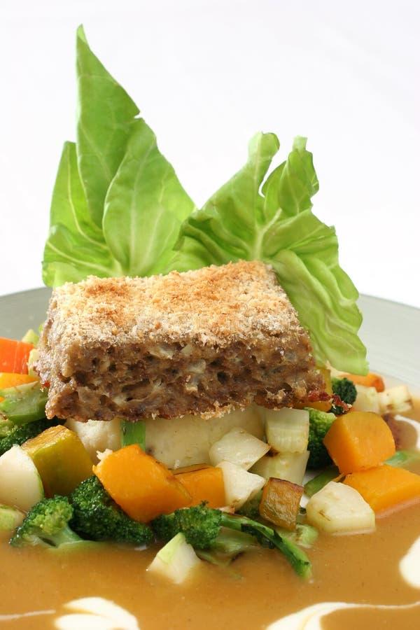 Meatloaf imagens de stock