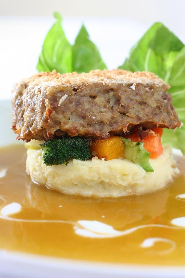 Meatloaf imagem de stock royalty free