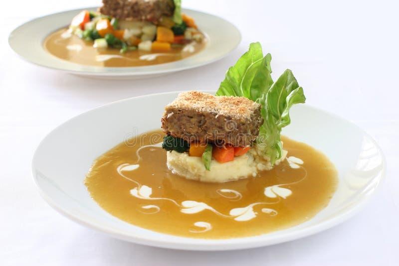 Meatloaf foto de stock