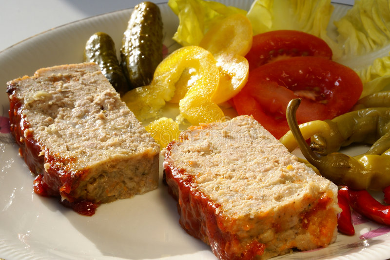 meatloaf zdjęcie stock