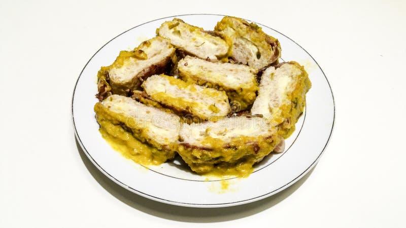 Meatloaf de Turquia fotografia de stock