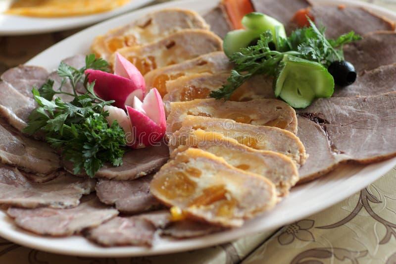 meatstycken royaltyfria foton
