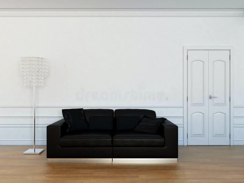 meblarski żywy pokój ilustracja wektor