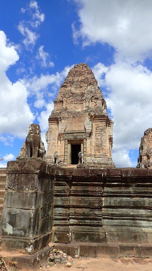Mebon est, Angkor, Cambodge images libres de droits