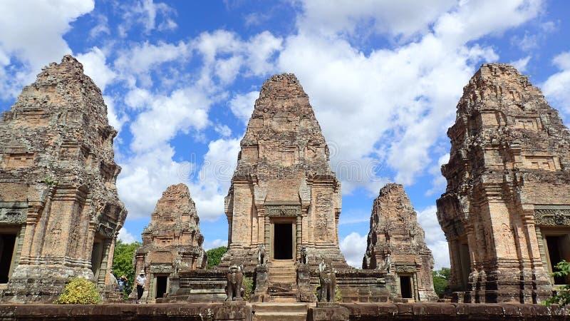 Mebon est, Angkor, Cambodge image libre de droits
