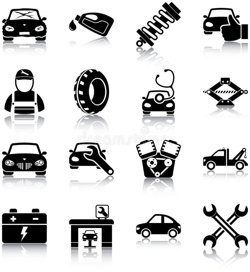 Mecánico de automóviles ilustración del vector