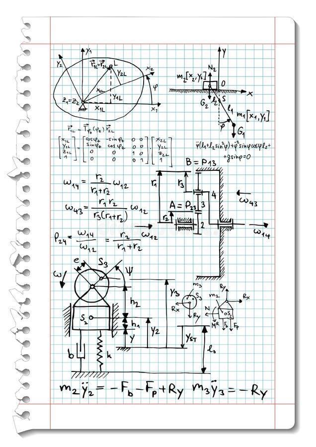 Mecánicos ilustración del vector