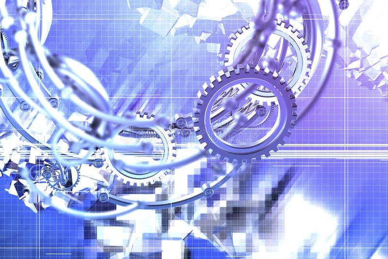 Download Mecánicos abstractos stock de ilustración. Ilustración de rejilla - 1292947