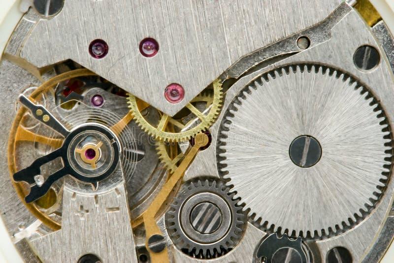 Mecánicos del reloj foto de archivo libre de regalías