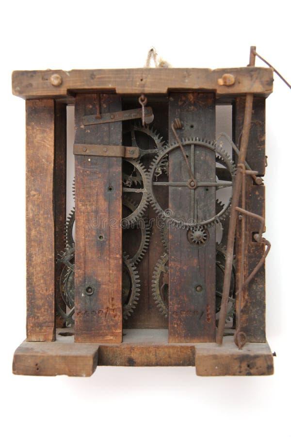 Mecánicos del reloj de la vendimia imagen de archivo libre de regalías
