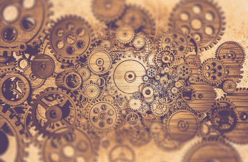 Mecânico avançado Abstract ilustração do vetor
