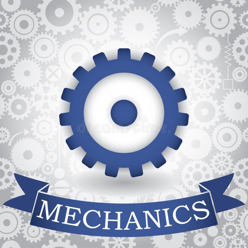 Mecânicos ilustração stock