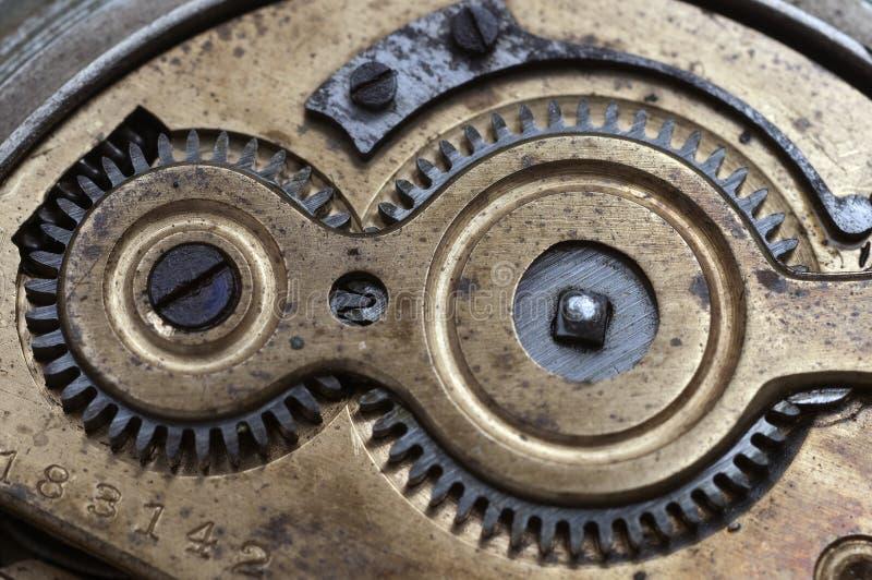 Mecanismo de engranaje fotografía de archivo