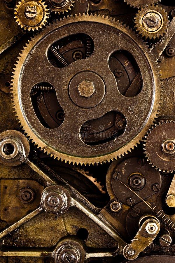 Mecanismo de engrenagens do vintage imagem de stock royalty free