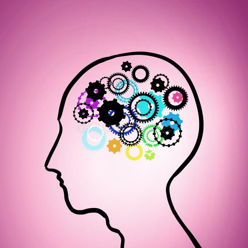 Mecanismo de pensamiento libre illustration