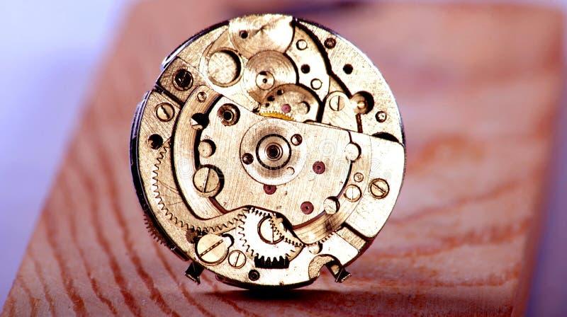 Mecanismo de um pulso de disparo Cronometre o conceito foto de stock