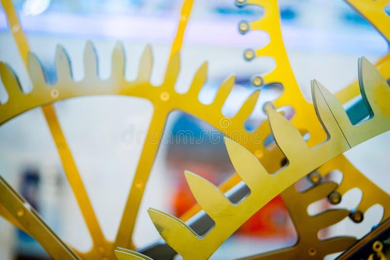 mecanismo decorativo do pulso de disparo Fim acima fotografia de stock royalty free