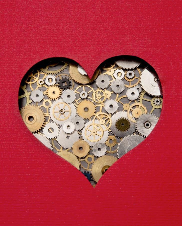 Mecanismo del corazón foto de archivo libre de regalías