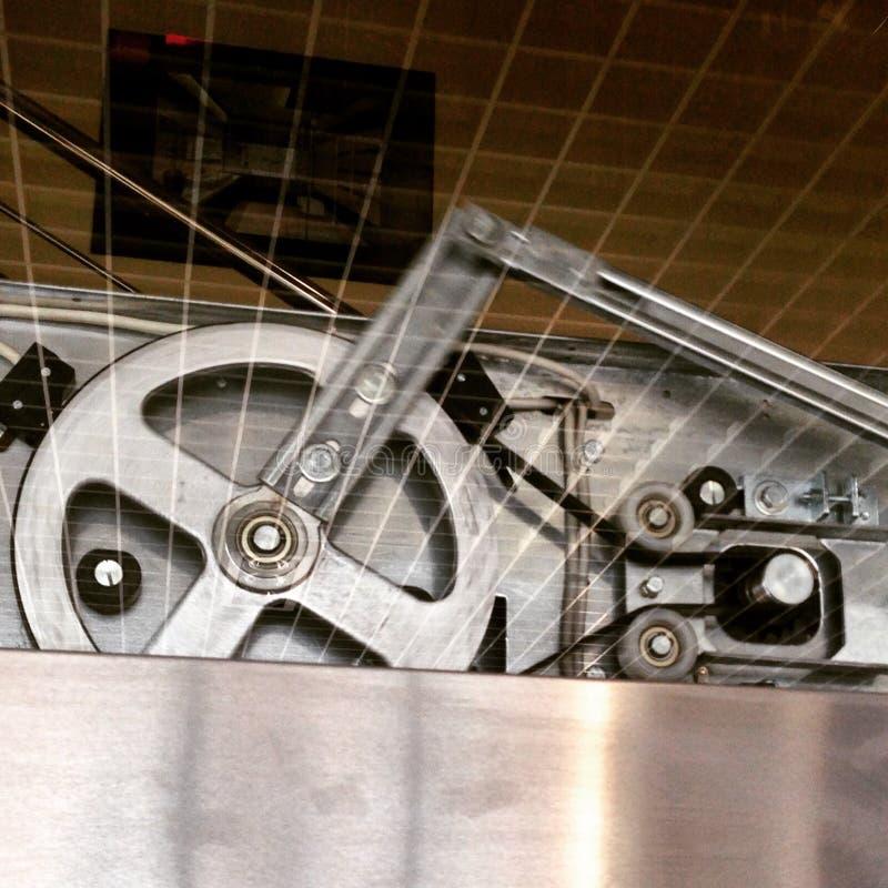 Mecanismo del elevador foto de archivo libre de regalías