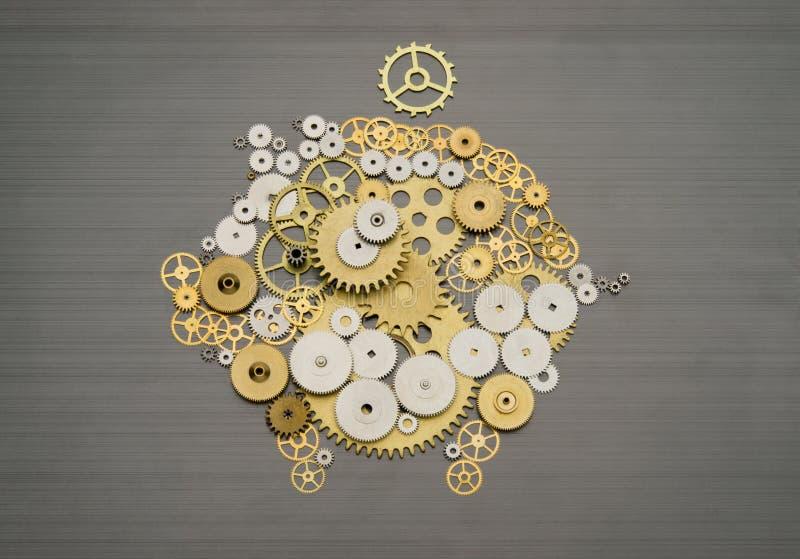 Mecanismo financeiro das economias fotografia de stock royalty free