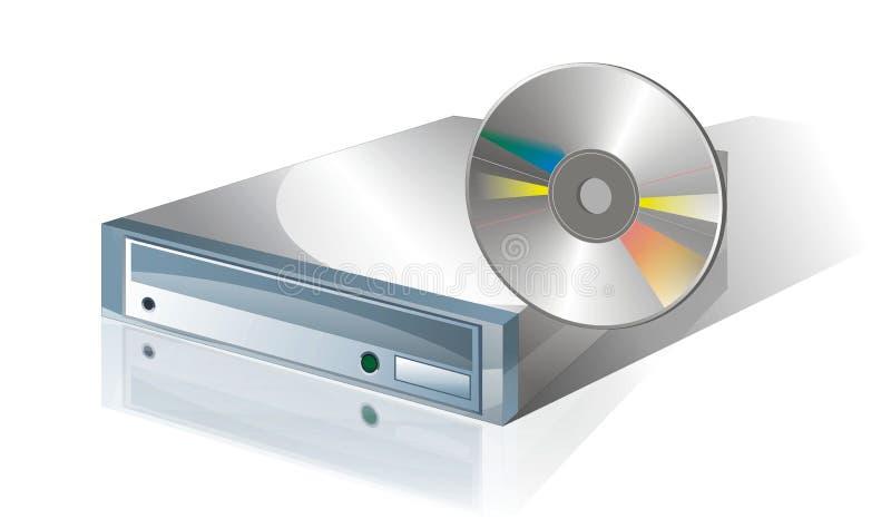 Download Mecanismo impulsor CD 1 stock de ilustración. Imagen de cerrado - 13527863