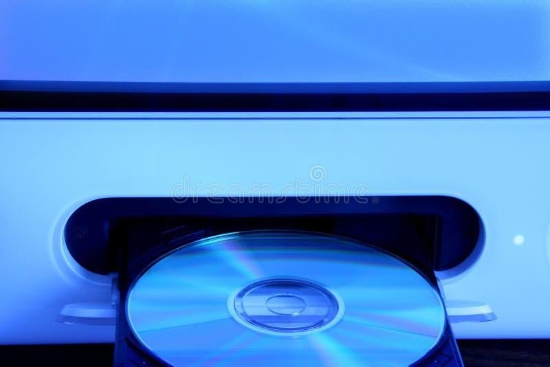 Mecanismo impulsor CD fotografía de archivo