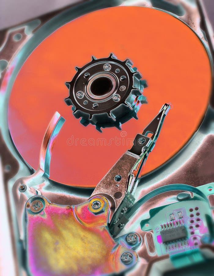 Mecanismo impulsor de disco duro del ordenador imágenes de archivo libres de regalías