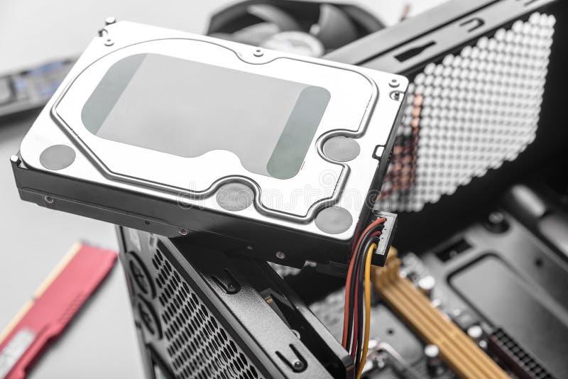 Mecanismo impulsor de disco duro HDD fotos de archivo libres de regalías