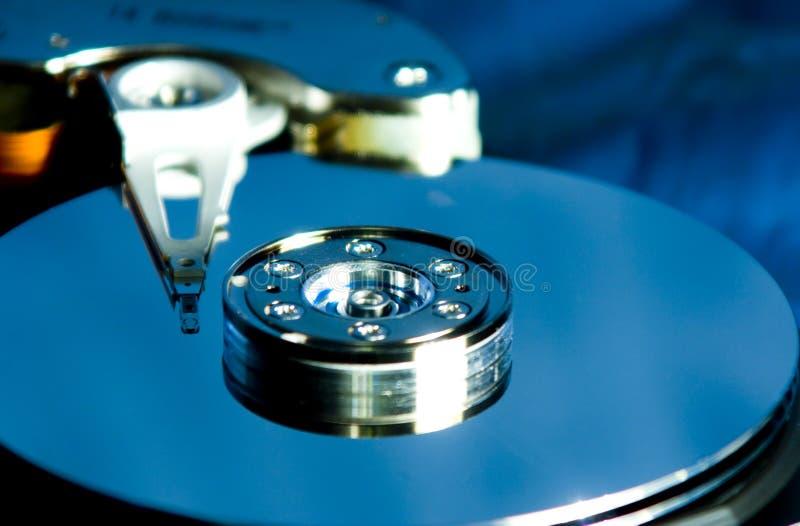 Mecanismo impulsor de disco duro interior fotografía de archivo libre de regalías