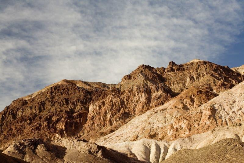 Mecanismo impulsor del artista, Death Valley N imagen de archivo