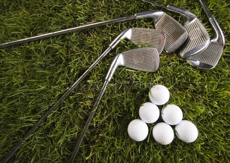 Mecanismo impulsor del golf fotografía de archivo libre de regalías