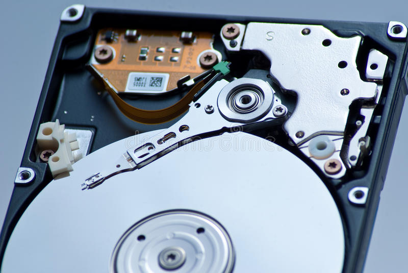 mecanismo impulsor duro de 2.5 pulgadas foto de archivo libre de regalías