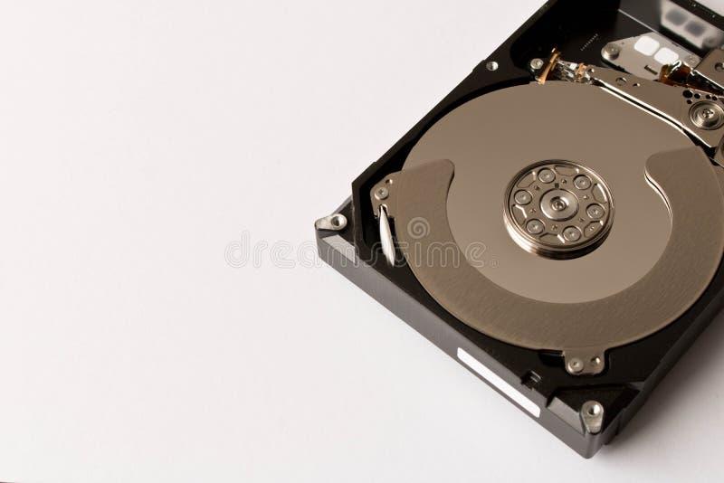 Mecanismo impulsor duro desensamblado Aislado en el fondo blanco Te vacío foto de archivo