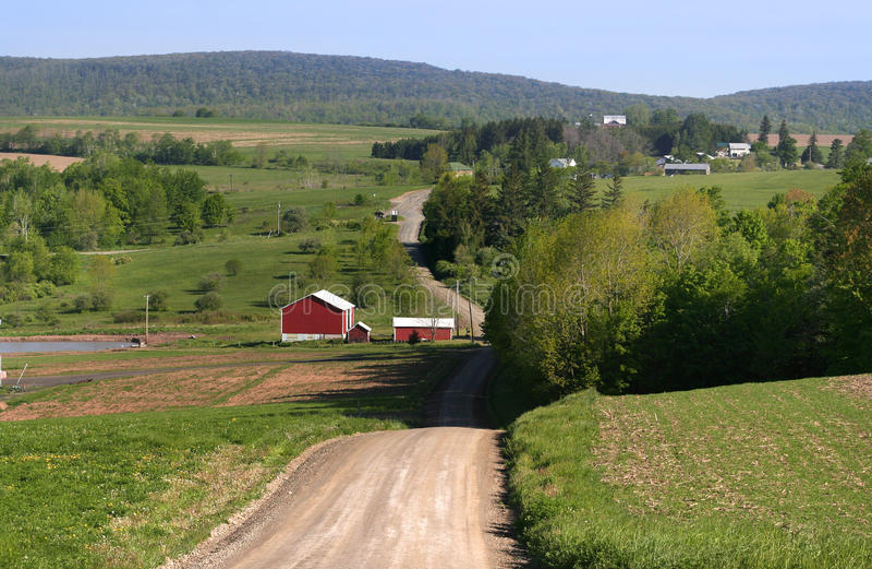 Mecanismo impulsor rural imagenes de archivo