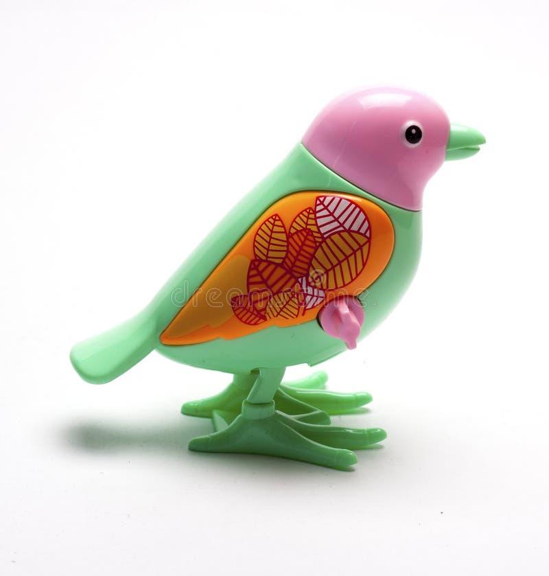 Mecanismo mecánico del ` s de los niños del pájaro fotografía de archivo